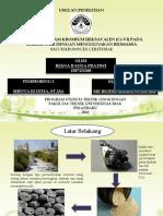 biosorpsi logam kromium heksavalen pada limbah cair dengan menggunakan biomassa saccharomyces cerevisiae