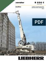 Attachment Information R 954 C Demolition 34m