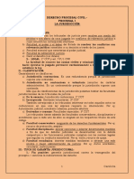 Resumen Procesal Civil Para Examen de Grado