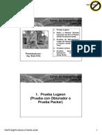 Clase 10 Pruebas Hidráulicas en Perforaciones y Piezómetros