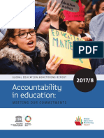 Education 2030 Incheon Declaration and Framework for Action (UNESCO 2017/18)