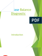 Acid Base Balance Diagnostic
