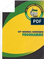 ANC elective conference 2017 programme