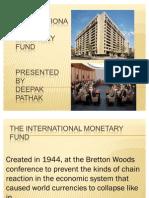 IMF , Unctad Gatt Ppt
