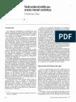 Alteraciones Hidroelectroliticas en La Insuficiencia Renal