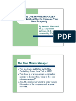 The One Minute Manager[1]