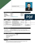 Template Resume