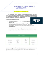 Liceum Componentes Quimicos de La Materia Viva