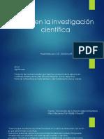 Etica en Investigacion Gcl
