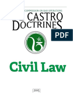 LCBO de Castro Doctrines Civil Law