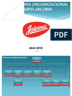 F-DO-17 Estructura Organizacional Abril 2016