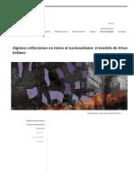 Algunas Reflexiones en Torno Al Nacionalismo, El Modelo de Ernest Gellner - Laura Tejedor Fuentes