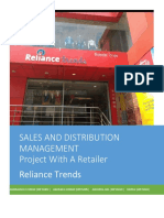 Reliance Trend Store Project