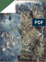 The Witcher 3 Wild Hunt World Map CZ