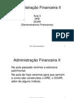 Adm  Financeira II - Aula 3