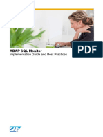 5. ABAP SQL Monitor Implementation Guide and Best Practices
