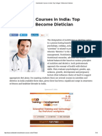 Nutritionist Courses in India_ Top Colleges to Become Dietician