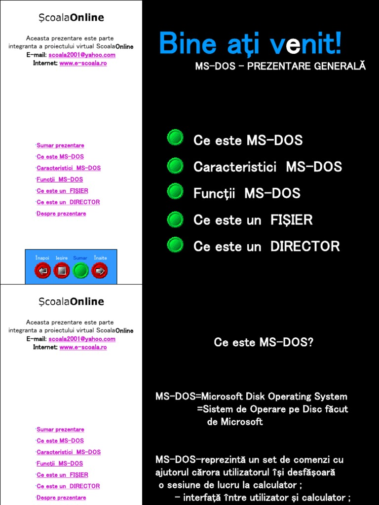 MS dos pps