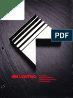 Kim Lighting Company Overview Brochure 1993