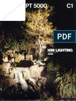 Kim Lighting Concept 5000 Series Brochure 1981