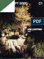 Kim Lighting Concept 5000 Series Brochure 1981