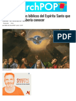 13 características bíblicas del Espíritu Santo que todo cristiano debería conocer | ChurchPOP