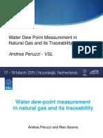 Water Dewpoint Measurement