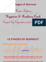 12 Stages of Burnout