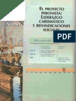 UNIDAD 7 - EL PROYECTO PERONISTA. LIDERAZGO CARISMÁTICO Y REIVINDICACIONES SOCIALES.pdf