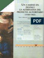 Unidad 6 - Un Camino en Zig Zag. La Alternativa Del Proyecto Unitario (1930-1983)
