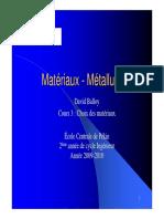 Cours3 Choix Des Matériaux