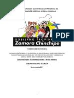 Tdr Estudios y Diseños Sistema Riego La Chonta