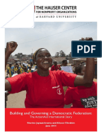 Building and Governing a Democratic Federation FINAL