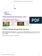 VPWS (Virtual Private Wire Service) - Part 1 - Www.ipcisco.com _ Www.ipcisco