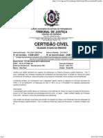 Certidão Estadual Execução PEPJe