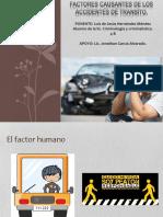 Factores Causantes de Los Accidentes