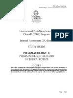 1Pharmacology1PharmacologicalBasisofTherapeutics2015