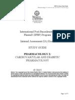 2Pharmacology2CardiovascularandDiabeticPharmacology2015