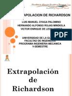 Extrapolacion de Richardson (1)