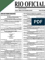 Diario Oficial 16-12-2017 Aprovados