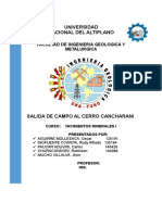 INFORME DE SALIDA DE CAMPO YACIMIENTOS MINERALES.docx