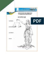 monografia HOSPEDAJE
