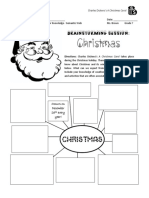 christmas carol - prereading activity - christmas semantic web brainstorm  pdf