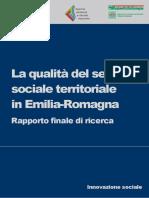 qualità del servizio sociale territoriale Emilia Romagna
