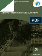 [Kelas 11] Aircraft Instrument and Autopilot