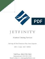 JETFINITY In-flight Catering Menu