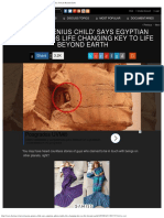 Russian 'Genius Child' Says Egyptian Sphinx Holds Life Changing Key To Life.pdf