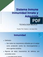 Inmunidad Innata y Adquirida