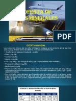 5. Oferta de Los Minerales
