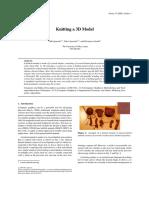 Igarashi, Igarashi, Suzuki - 2008 - Knitting a 3D model.pdf